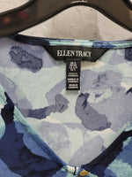 Photo #4 - BRAND: ELLEN TRACY <BR>STYLE: TOP LONG SLEEVE <BR>COLOR: BLUE <BR>SIZE: S <BR>SKU: 115-115340-4761