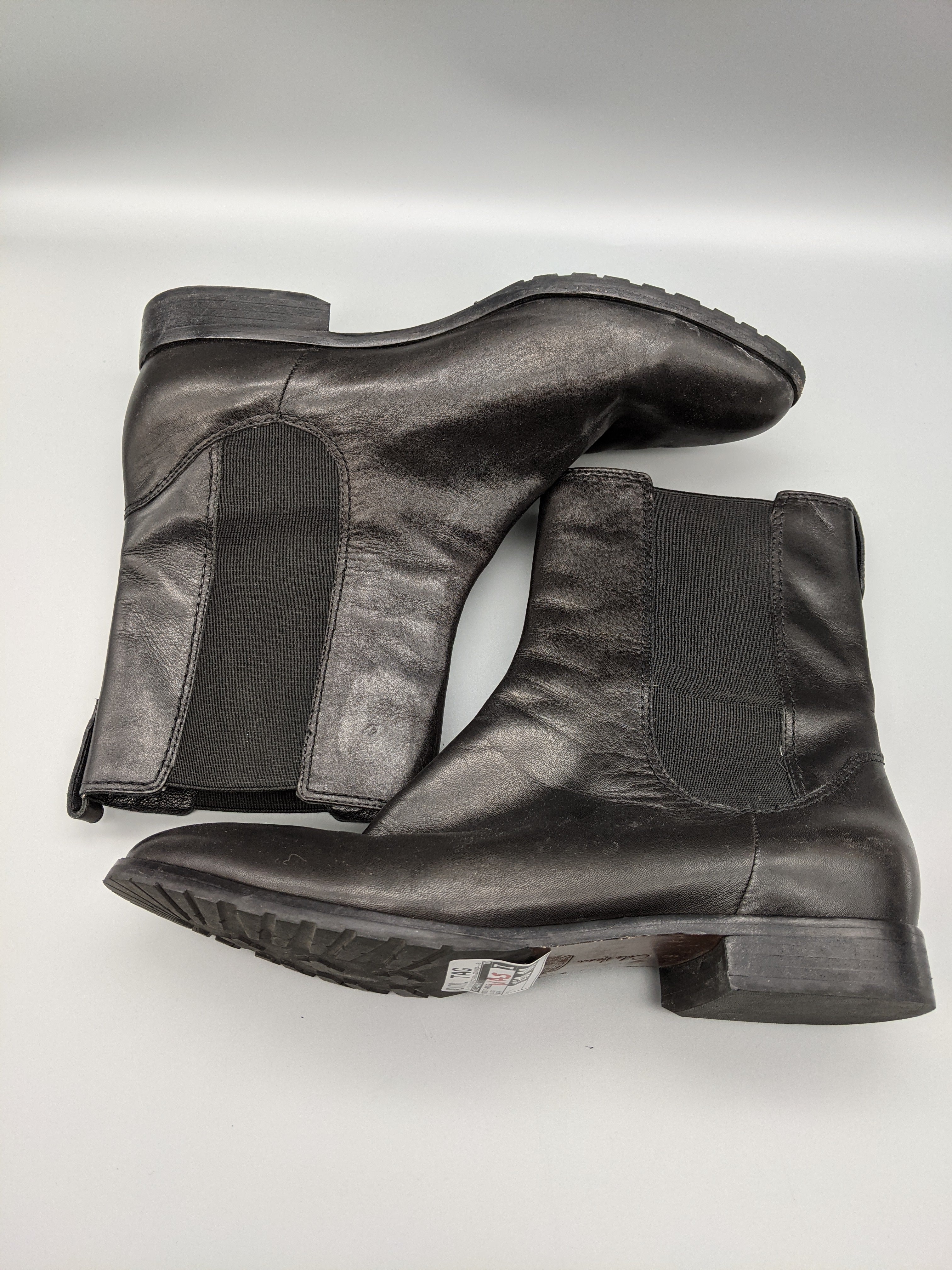 Photo #5 - BRAND: COLE-HAAN O <BR>STYLE: BOOTS ANKLE <BR>COLOR: BLACK <BR>SIZE: 9 <BR>OTHER INFO: WEAR <BR>SKU: 115-115314-7030