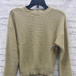 Primary Photo - BRAND:    CLOTHES MENTOR STYLE: SWEATER LIGHTWEIGHT COLOR: TAN SIZE: S OTHER INFO: NASTYGAL - NEW! SKU: 115-115314-10108