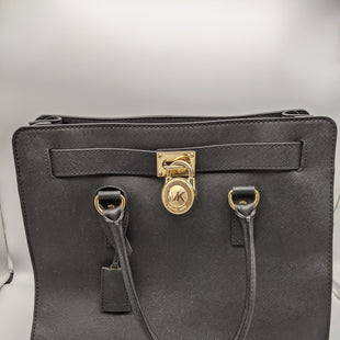 Primary Photo - BRAND: MICHAEL BY MICHAEL KORS STYLE: HANDBAG COLOR: BLACK SIZE: LARGE OTHER INFO: ** WITH DUSTBAG SOME WEARSKU: 115-115347-3600