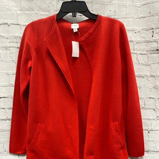 Primary Photo - BRAND: J CREW STYLE: SWEATER CARDIGAN HEAVYWEIGHT COLOR: RED SIZE: XXS SKU: 115-115314-10611R