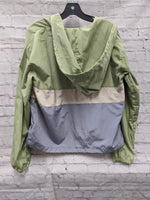 Photo #1 - BRAND:    CLOTHES MENTOR <BR>STYLE: JACKET OUTDOOR <BR>COLOR: MULTI <BR>SIZE: S <BR>OTHER INFO: THREAD & SUPPLY - **GREEN CREAM BLUE <BR>SKU: 115-115260-93935