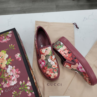 Primary Photo - BRAND: GUCCI STYLE: SHOES FLATS COLOR: FLORAL SIZE: 8 SKU: 115-115347-3856
