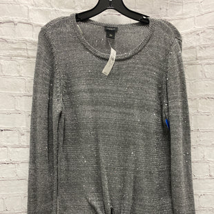 Primary Photo - BRAND: ANN TAYLOR STYLE: SWEATER LIGHTWEIGHT COLOR: SILVER SIZE: L OTHER INFO: NEW! SKU: 115-115314-8126