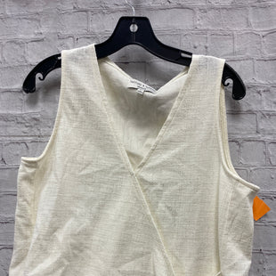 Primary Photo - BRAND: MADEWELL STYLE: TOP SLEEVELESS COLOR: OFF WHITE SIZE: L SKU: 115-115335-3363