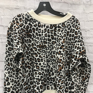 Primary Photo - BRAND: TAHARI STYLE: SWEATER LIGHTWEIGHT COLOR: ANIMAL PRINT SIZE: XS SKU: 115-115338-3372