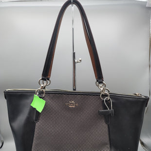 Primary Photo - BRAND: COACH O STYLE: HANDBAG DESIGNER COLOR: BLACK SIZE: MEDIUM SKU: 115-115347-3797SMALL WHITE SPOTS ON PART OF THE LEATHER