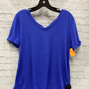 Primary Photo - BRAND: SOFT SURROUNDINGS STYLE: TOP SHORT SLEEVE COLOR: PURPLE SIZE: XS SKU: 115-115257-30114