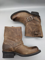 Photo #4 - BRAND: FRYE <BR>STYLE: BOOTS ANKLE <BR>COLOR: BROWN <BR>SIZE: 5.5<BR>OTHER INFO: ** <BR>SKU: 115-115314-7183