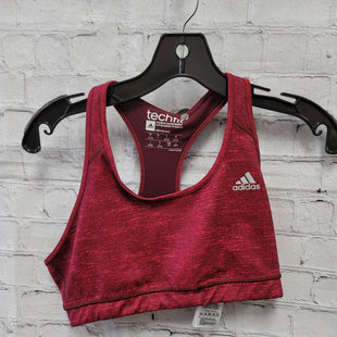 Primary Photo - BRAND: ADIDAS STYLE: BRA COLOR: RASPBERRY SIZE: L SKU: 115-115347-3607