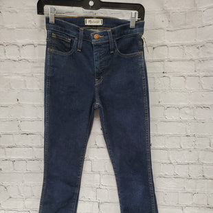 Primary Photo - BRAND: MADEWELL STYLE: JEANS COLOR: DENIM SIZE: 0 SKU: 115-115340-3197PETITE 25