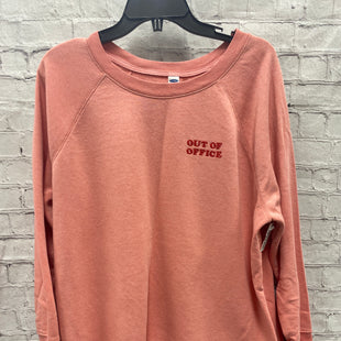 Primary Photo - BRAND: OLD NAVY STYLE: TOP LONG SLEEVE COLOR: PINK SIZE: XL OTHER INFO: OUT OF OFFICE SKU: 115-115309-19576