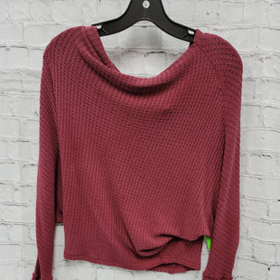 Primary Photo - BRAND: FREE PEOPLE STYLE: TOP LONG SLEEVE COLOR: PLUM SIZE: S SKU: 115-115360-1568