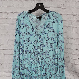 Primary Photo - BRAND: LANE BRYANT STYLE: TOP LONG SLEEVE COLOR: AQUA SIZE: 28 OTHER INFO: 4X SKU: 115-115347-3632