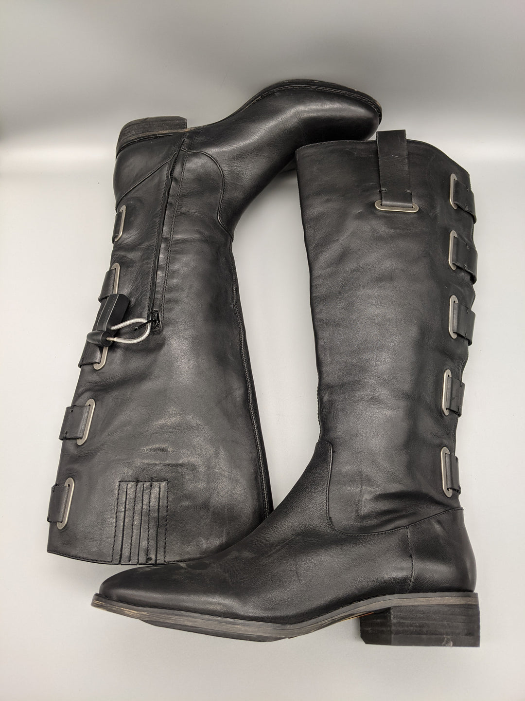 Photo #5 - BRAND: ARTURO CHIANG <BR>STYLE: BOOTS KNEE <BR>COLOR: BLACK <BR>SIZE: 6.5 <BR>SKU: 115-115309-17071