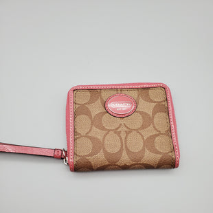 Primary Photo - BRAND: COACH O STYLE: WALLET COLOR: PINK SIZE: SMALL SKU: 115-115347-1060