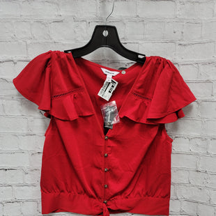 Primary Photo - BRAND: EXPRESS STYLE: TOP SHORT SLEEVE COLOR: RED SIZE: S OTHER INFO: NEW! SKU: 115-115347-701