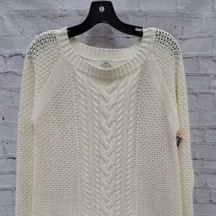 Primary Photo - BRAND: ST JOHNS BAY STYLE: SWEATER LIGHTWEIGHT COLOR: CREAM SIZE: L SKU: 115-115340-4770