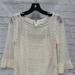 Primary Photo - BRAND: STYLUS STYLE: TOP LONG SLEEVE COLOR: CREAM SIZE: S SKU: 115-115360-114