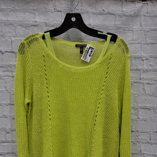 Primary Photo - BRAND: EILEEN FISHER STYLE: SWEATER LIGHTWEIGHT COLOR: CHARTREUSE SIZE: S SKU: 115-115340-4565