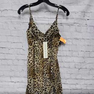 Primary Photo - BRAND:    CLOTHES MENTOR STYLE: DRESS SHORT SLEEVELESS COLOR: LEOPARD PRINT SIZE: XS OTHER INFO: ALLISON AND KELLY - NWT SKU: 115-115309-20140