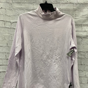 Primary Photo - BRAND: CROFT AND BARROW STYLE: TOP LONG SLEEVE COLOR: LAVENDER SIZE: XL SKU: 115-115309-15655