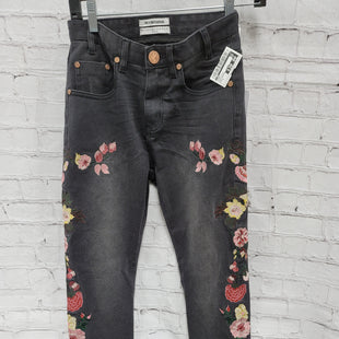 Primary Photo - BRAND:  CMA STYLE: JEANS COLOR: BLACK DENIM SIZE: 2 OTHER INFO: ONE TEASPOON - FLORAL SKU: 115-115309-21652