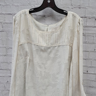 Primary Photo - BRAND: ANN TAYLOR LOFT STYLE: TOP LONG SLEEVE COLOR: OFF WHITE SIZE: 3X SKU: 115-115309-21362
