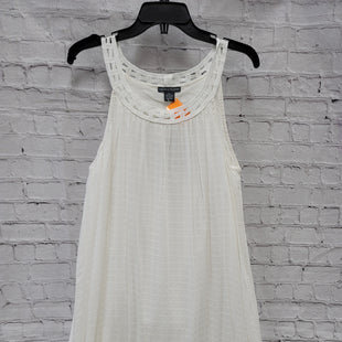 Primary Photo - BRAND: CHELSEA AND THEODORE STYLE: DRESS SHORT SLEEVELESS COLOR: WHITE SIZE: XL SKU: 115-115309-19447