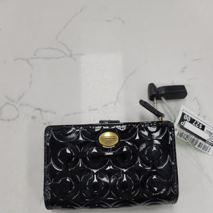 Primary Photo - BRAND: COACH STYLE: WALLET COLOR: BLACK SIZE: MEDIUM SKU: 115-115314-11856