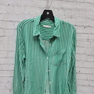 Primary Photo - BRAND: BEACHLUNCHLOUNGE STYLE: TOP LONG SLEEVE COLOR: GREEN SIZE: M SKU: 115-115314-12028