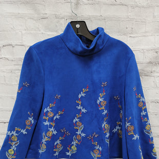 Primary Photo - BRAND: ZARA WOMEN STYLE: TOP LONG SLEEVE COLOR: BLUE SIZE: S SKU: 115-115338-3883