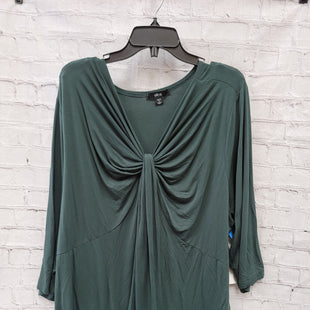 Primary Photo - BRAND: ELLOS STYLE: TUNIC LONG SLEEVE COLOR: FOREST SIZE: 3X SKU: 115-115302-17122