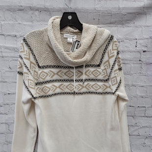 Primary Photo - BRAND: CHRISTOPHER AND BANKS STYLE: SWEATER CARDIGAN LIGHTWEIGHT COLOR: CREAM SIZE: XL OTHER INFO: NEW! SKU: 115-115314-9481