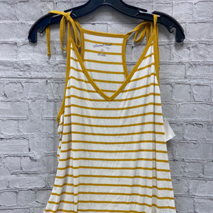 Primary Photo - BRAND: UNIVERSAL THREAD STYLE: TOP SLEEVELESS COLOR: YELLOW SIZE: 2X SKU: 115-115340-1728