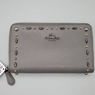 Primary Photo - BRAND: COACH STYLE: WALLET COLOR: GREY SIZE: MEDIUM OTHER INFO: ** SKU: 115-115260-91467EXCELLENT CONDITION