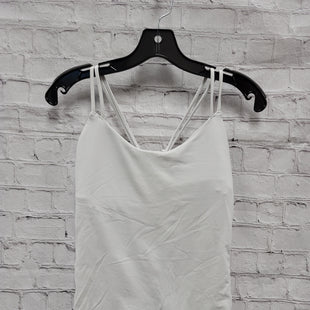 Primary Photo - BRAND: LULULEMON STYLE: ATHLETIC TANK TOP COLOR: WHITE SIZE: 10 SKU: 115-115309-20143