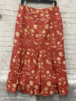 Photo #2 - BRAND: SUNDANCE <BR>STYLE: SKIRT <BR>COLOR: SALMON <BR>SIZE: 12 <BR>OTHER INFO: FLORAL <BR>SKU: 115-115335-3538