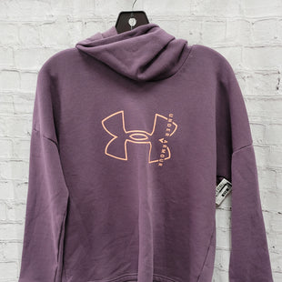 Primary Photo - BRAND: UNDER ARMOUR STYLE: SWEATSHIRT HOODIE COLOR: PURPLE SIZE: S OTHER INFO: NWT SKU: 115-115309-20087