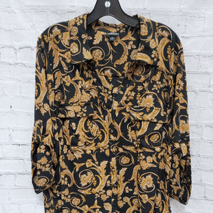 Primary Photo - BRAND: TORRID STYLE: TOP LONG SLEEVE COLOR: BLACK SIZE: 3X OTHER INFO: GOLD SKU: 115-115336-4606