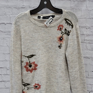 Primary Photo - BRAND:    CLOTHES MENTOR STYLE: SWEATER LIGHTWEIGHT COLOR: CREAM SIZE: S OTHER INFO: VERO MODA - FLOWERS SKU: 115-115314-10005