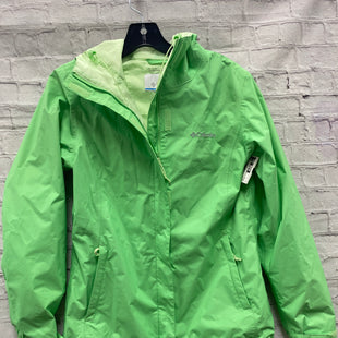 Primary Photo - BRAND: COLUMBIA STYLE: JACKET OUTDOOR COLOR: GREEN SIZE: S SKU: 115-115340-4319
