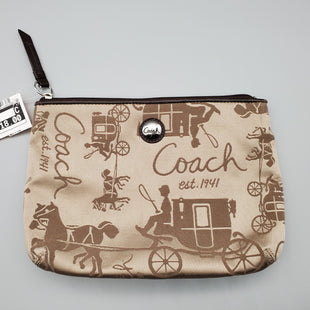 Primary Photo - BRAND: COACH STYLE: WALLET COLOR: TAN SIZE: SMALL SKU: 115-115322-7769GOOD CONDITION, MINOR WEAR TO CANVAS6.5 X 9
