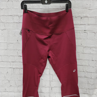 Primary Photo - BRAND: ASICS STYLE: ATHLETIC PANTS COLOR: MAROON SIZE: L SKU: 115-115309-21656