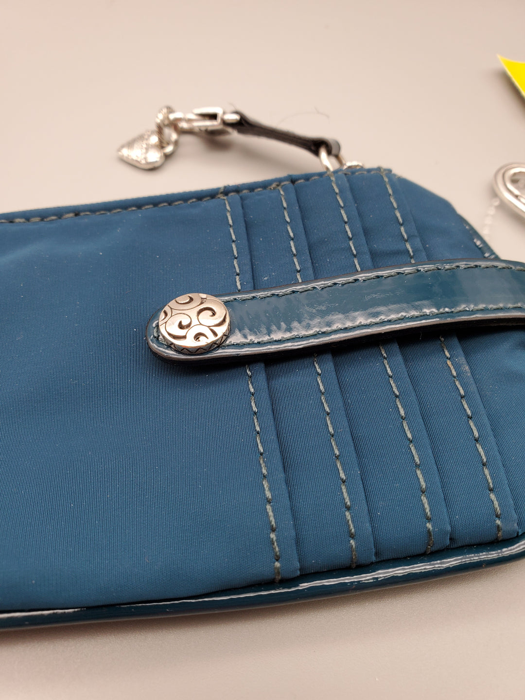 Photo #2 - BRAND: BRIGHTON <BR>STYLE: WALLET <BR>COLOR: TEAL <BR>SIZE: SMALL <BR>SKU: 115-115347-1058