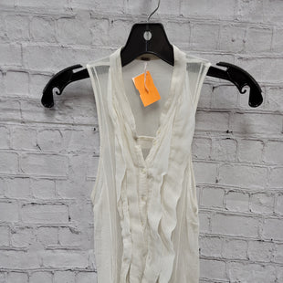 Primary Photo - BRAND: FREE PEOPLE STYLE: TOP SLEEVELESS COLOR: WHITE SIZE: M SKU: 115-115336-4901