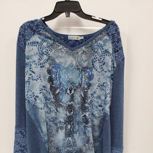 Primary Photo - BRAND: UNITY STYLE: TOP LONG SLEEVE COLOR: BLUE SIZE: XL SKU: 115-115309-16469