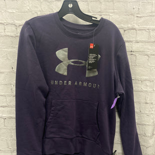 Primary Photo - BRAND: UNDER ARMOUR STYLE: SWEATSHIRT HOODIE COLOR: PURPLE SIZE: M OTHER INFO: NWT NO HOOD SKU: 115-115309-21512