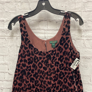 Primary Photo - BRAND: J CREW STYLE: TOP SLEEVELESS COLOR: MAUVE SIZE: 0 OTHER INFO: VELVET - LEOPARD SKU: 115-115309-18094