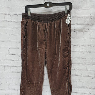 Primary Photo - BRAND: ELEVENSES STYLE: PANTS COLOR: BROWN SIZE: S OTHER INFO: VELVET SKU: 115-115309-20144